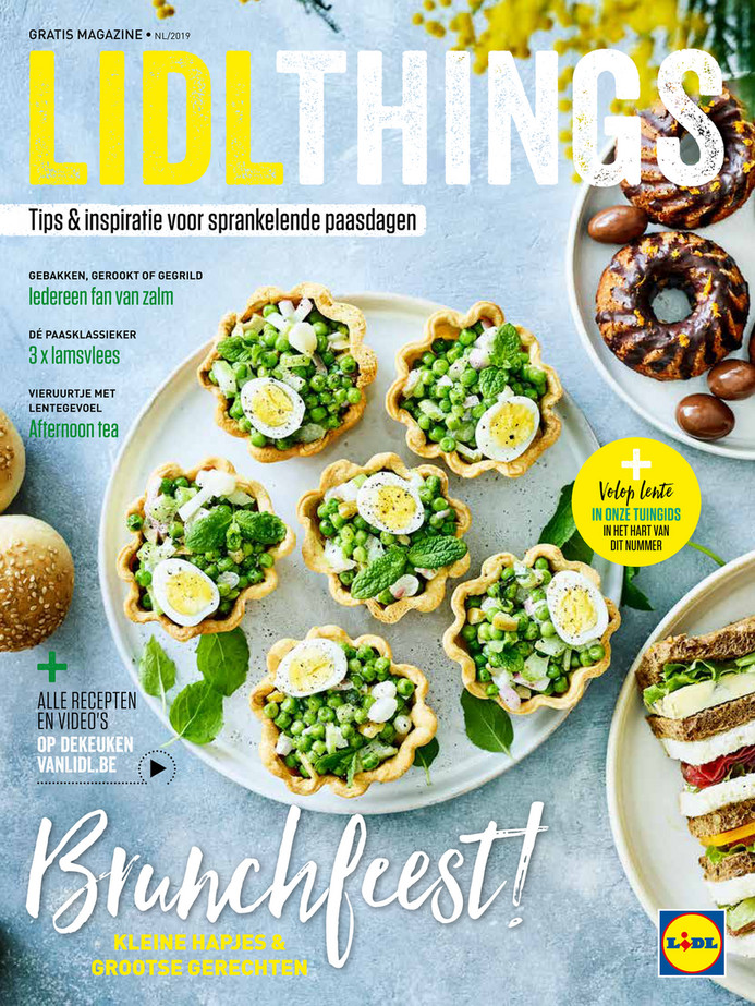 Lidl folder van 01/04/2019 tot 30/04/2019 - Brunchfeest