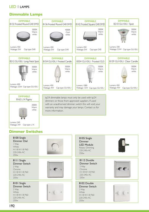 tp24 - tp24 LED Lighting Catalogue Vol  9 - Page 192-193