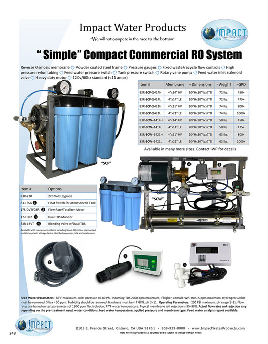 Impact Water Products - Impact Water Products 2018 Catalog - Page ...