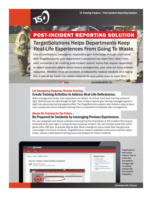 targetsolutions platform solutions ts fire service trackers
