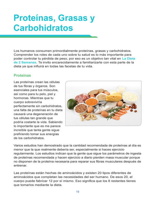 La Dieta de 2 Semanas PDF Libro Descargar Completo | Brian Flatt ...