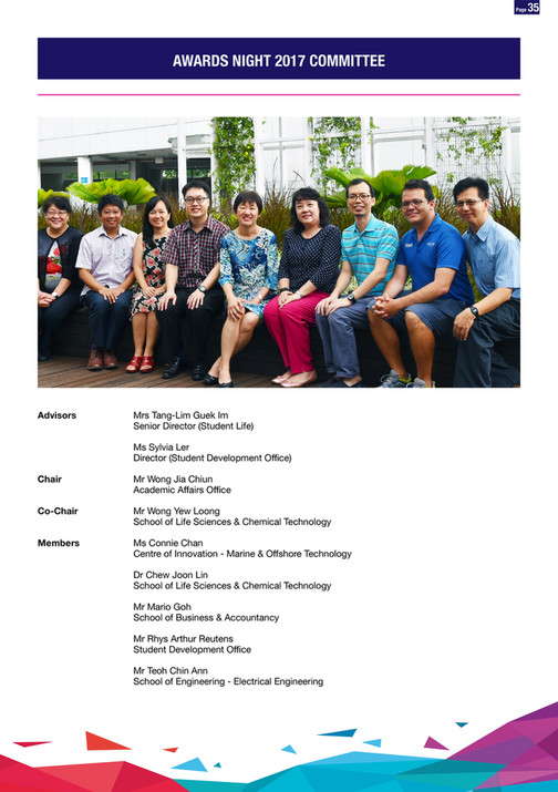 Lovorth Events & Media - NP Awards Night 2017 (E-Booklet) - Page 32