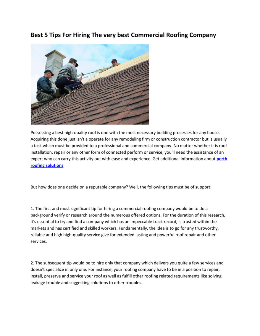 My Publications Industrial Roofing Contractors Page 1 Created With Publitas Com