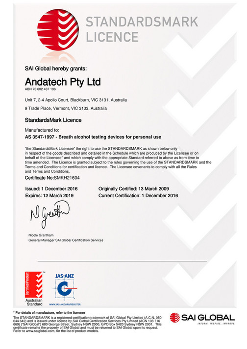 My publications - Andatech ISO9001 and Australian Standards