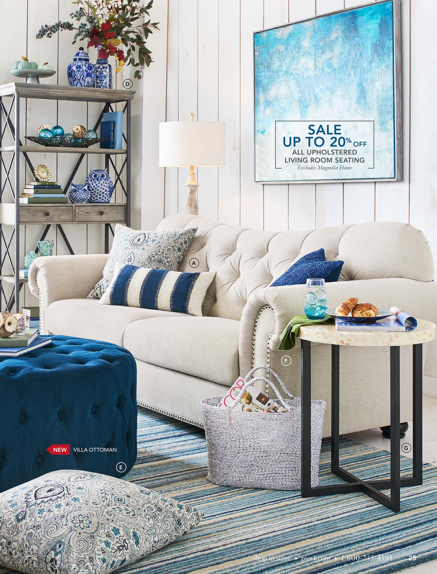 Pleasant Pier 1 Imports September 2017 Mailer Pier 1 Villa Tufted Ibusinesslaw Wood Chair Design Ideas Ibusinesslaworg