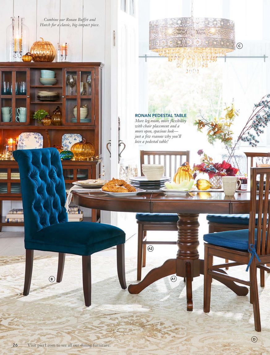 Enjoyable Pier 1 Imports September 2017 Mailer Pier 1 Villa Tufted Ibusinesslaw Wood Chair Design Ideas Ibusinesslaworg