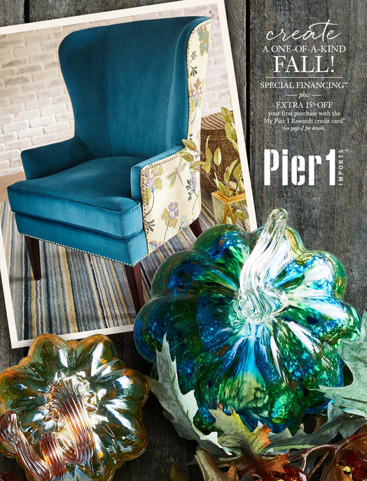 September Mailer. Pier 1 Books   Pier 1 Imports