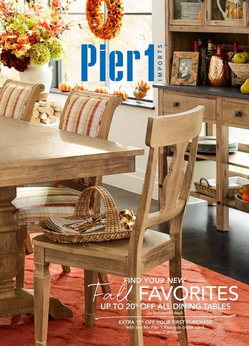 Find Your New Fall Favorites October 2017. Pier 1 Books   Pier 1 Imports