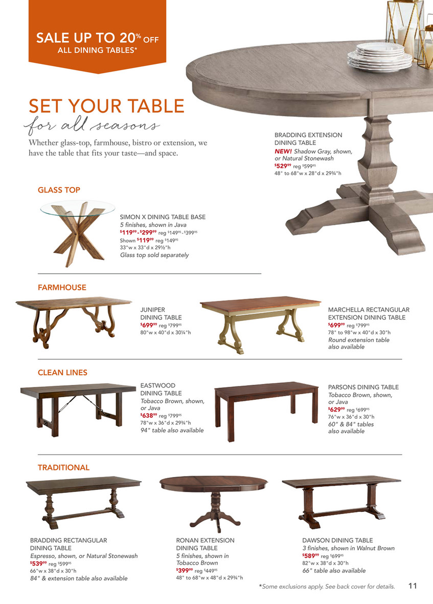 Peachy Pier 1 Imports October 2017 Mailer Pier 1 Dawson Walnut Ocoug Best Dining Table And Chair Ideas Images Ocougorg