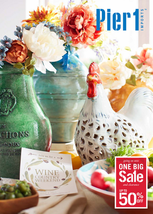 going on now and clearance. Pier 1 Catalog   Mailer   Pier 1 Imports