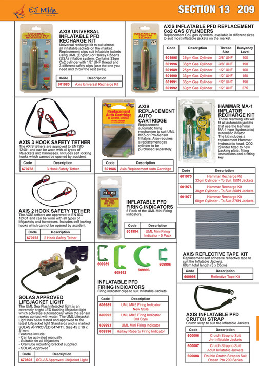 My publications - EJ Milde 2017 Product Catalogue - Page 216