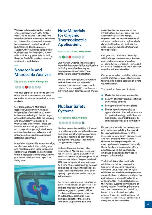University of Nottingham - Energy Capability Statement - Page 44-45