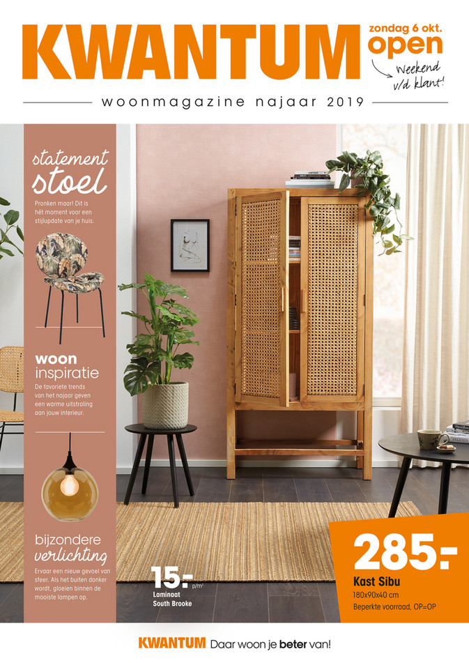 Kwantum folder van 01/10/2019 tot 31/12/2019 - Woonmagazine
