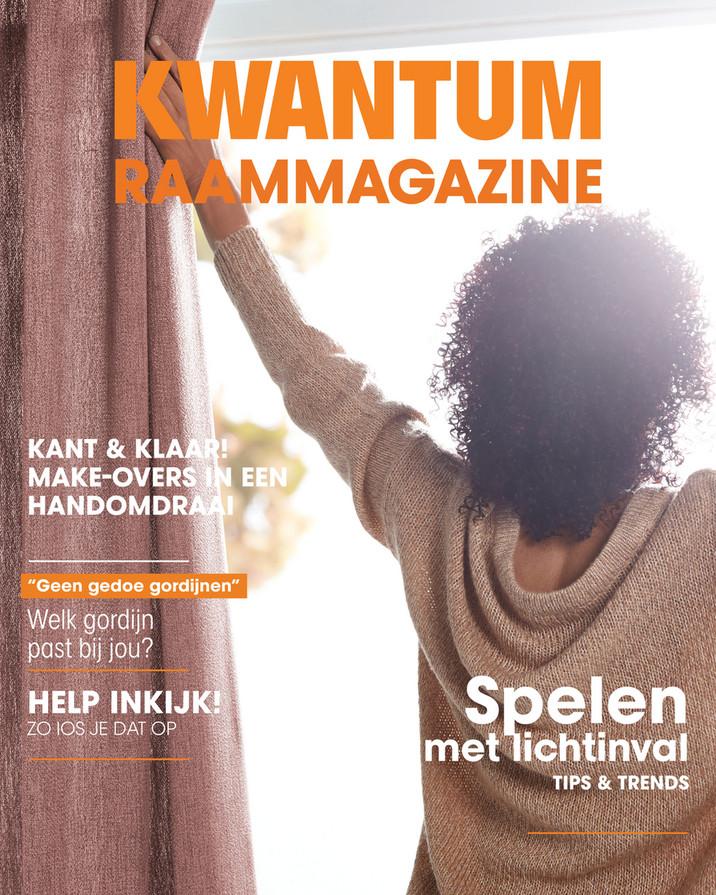 Kwantum folder van 01/08/2018 tot 31/12/2019 - Raam magazine
