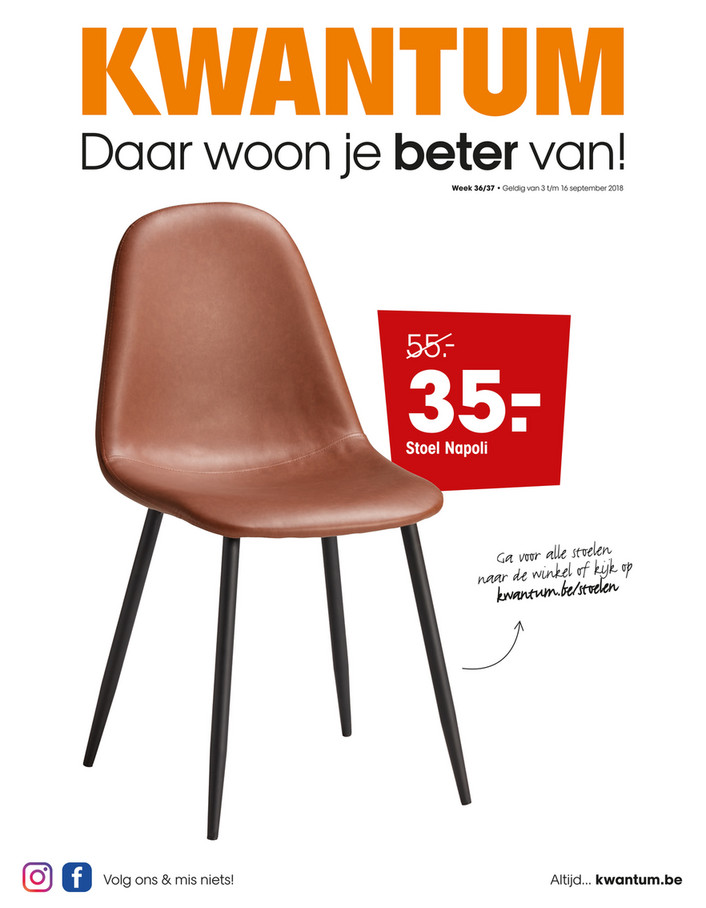 Kwantum folder van 03/09/2018 tot 16/09/2018 - Weekpromoties