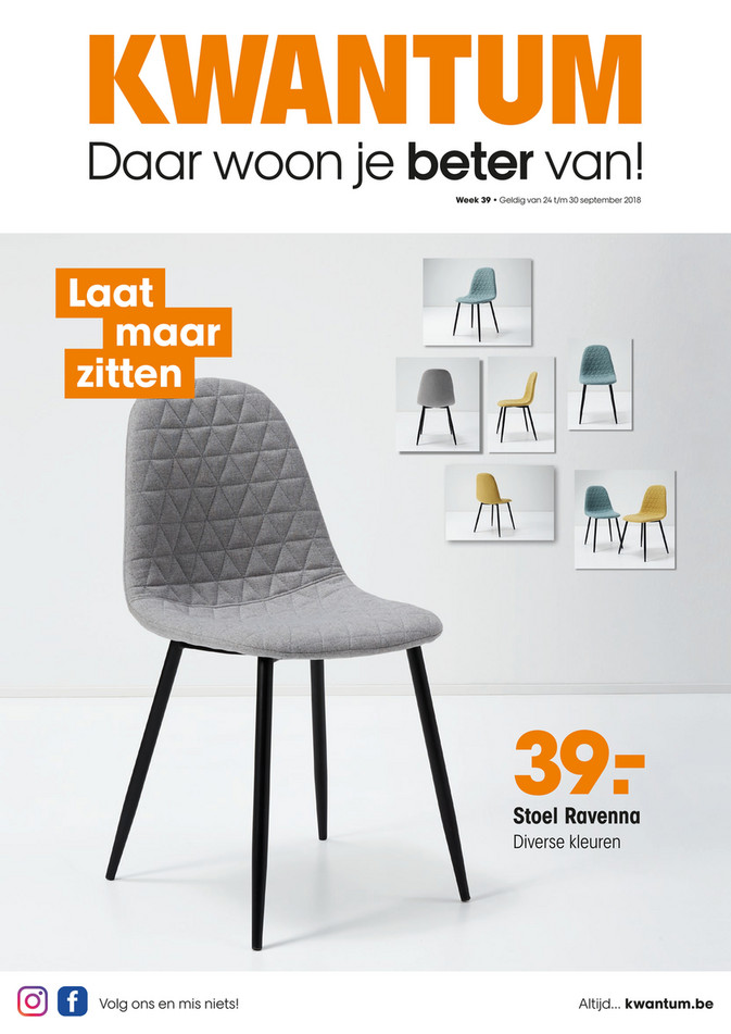 Kwantum folder van 24/09/2018 tot 30/09/2018 - Promoties van de week 39