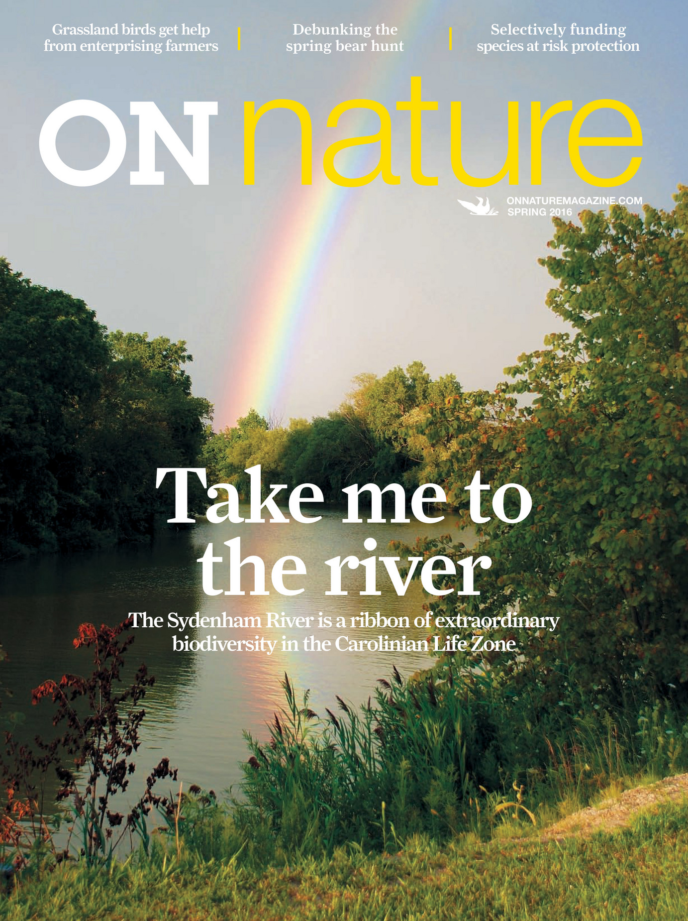 nature magazine spring pages climate change