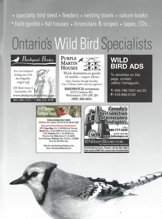 ON Nature magazine - Summer_2011 - Page 42-43