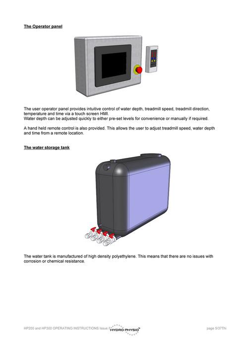 DLC Australia Pty Ltd - Hydro-Therapy (touch screen) User Manual