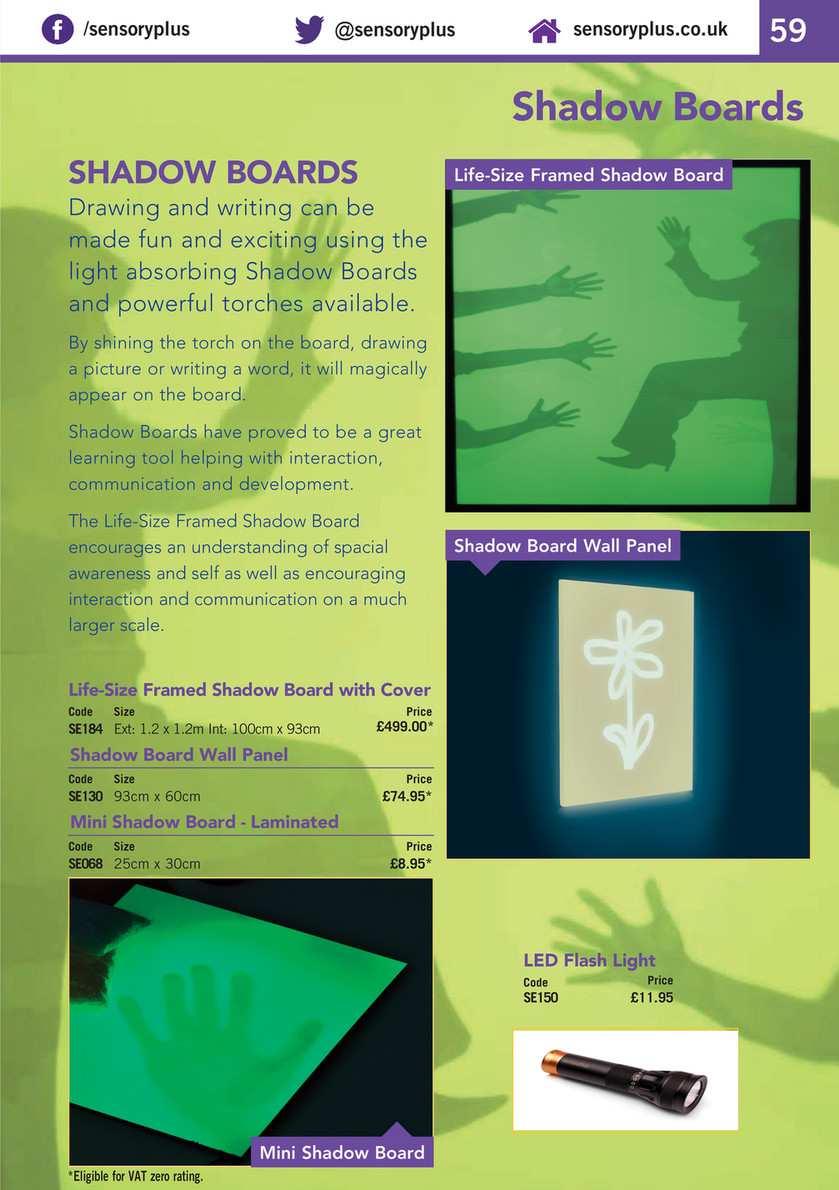 SensoryPlus Ltd - SensoryPlus Catalogue Edition 15 - Page 58