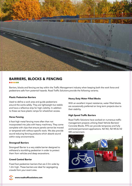 Road Traffic Solutions - Road Traffic Solutions Brochure - Page 6-7