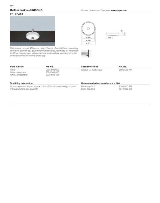 Tesign - Alape 2017 - Page 60-61 - Created with Publitas com