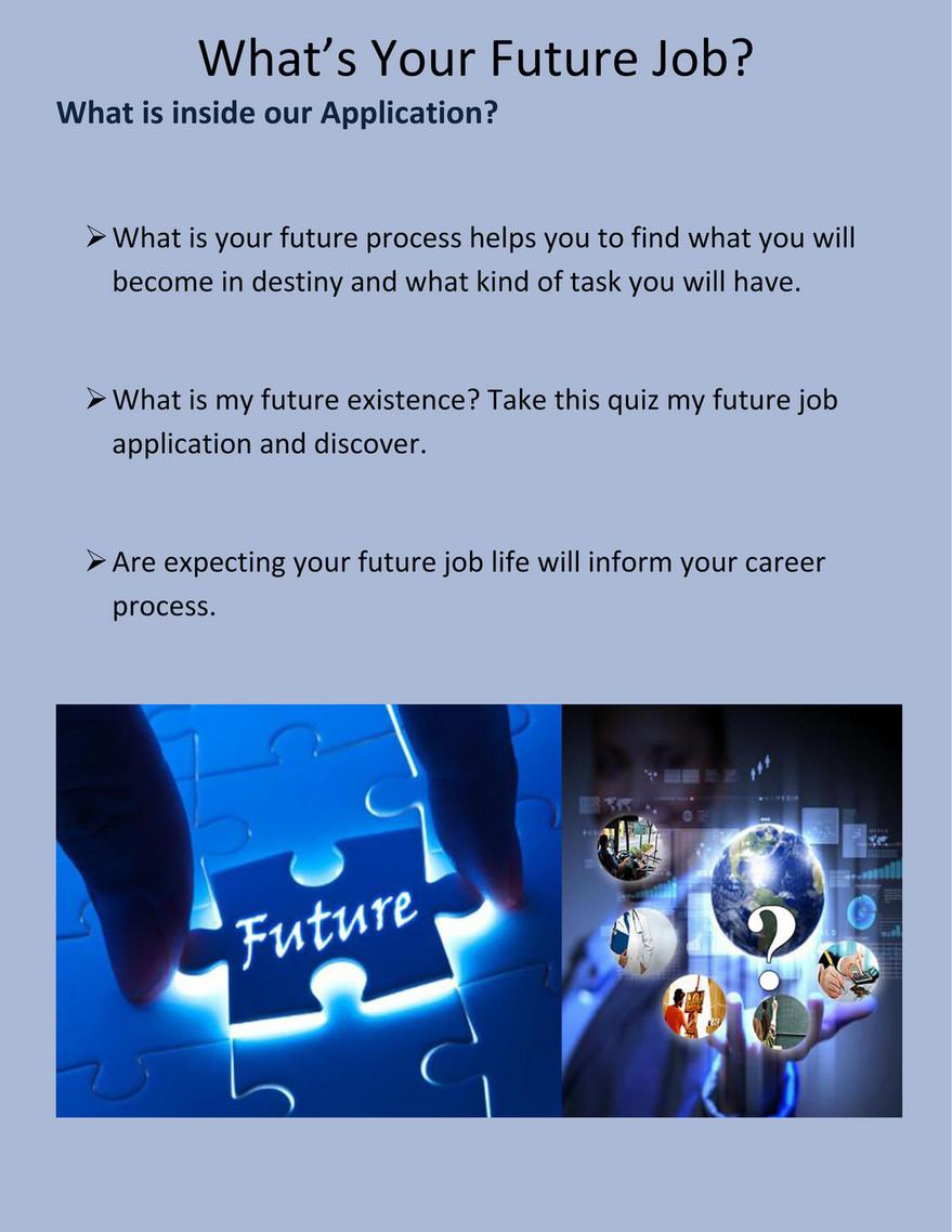 Your Future Job Quiz