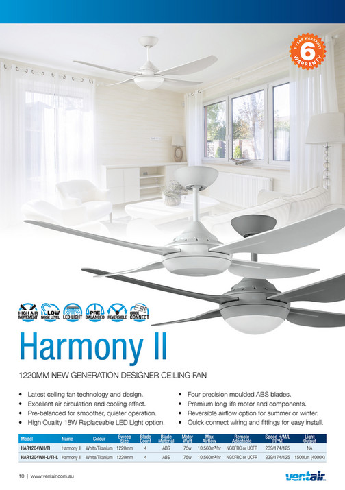 Ventair pty ltd ventair summer ceiling fan catalogue 2017 2018 ventair pty ltd ventair summer ceiling fan catalogue 2017 2018 page 8 9 created with publitas aloadofball Gallery