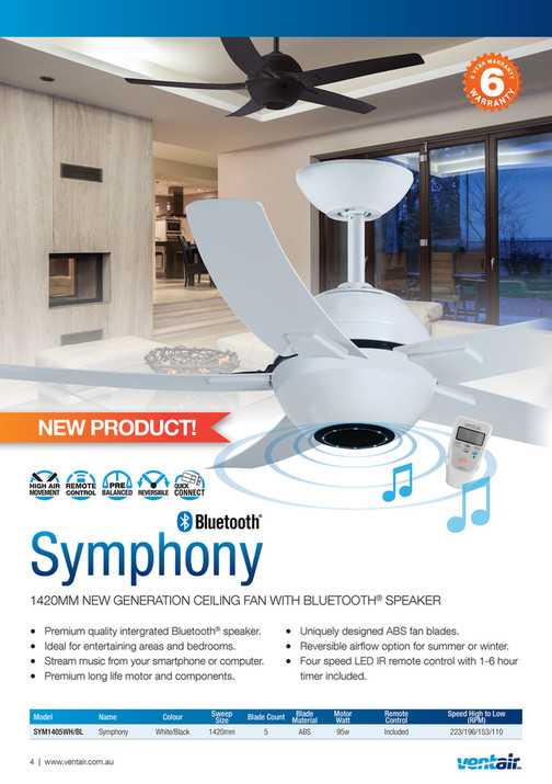 Ventair pty ltd ventair summer ceiling fan catalogue 2017 2018 ventair pty ltd ventair summer ceiling fan catalogue 2017 2018 page 2 3 created with publitas aloadofball Gallery
