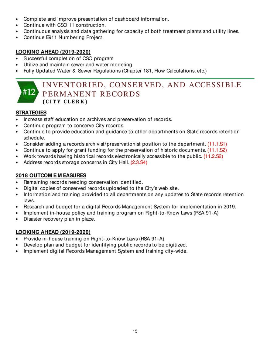 City of Lebanon - 2018-2020 Work Plan - Page 15