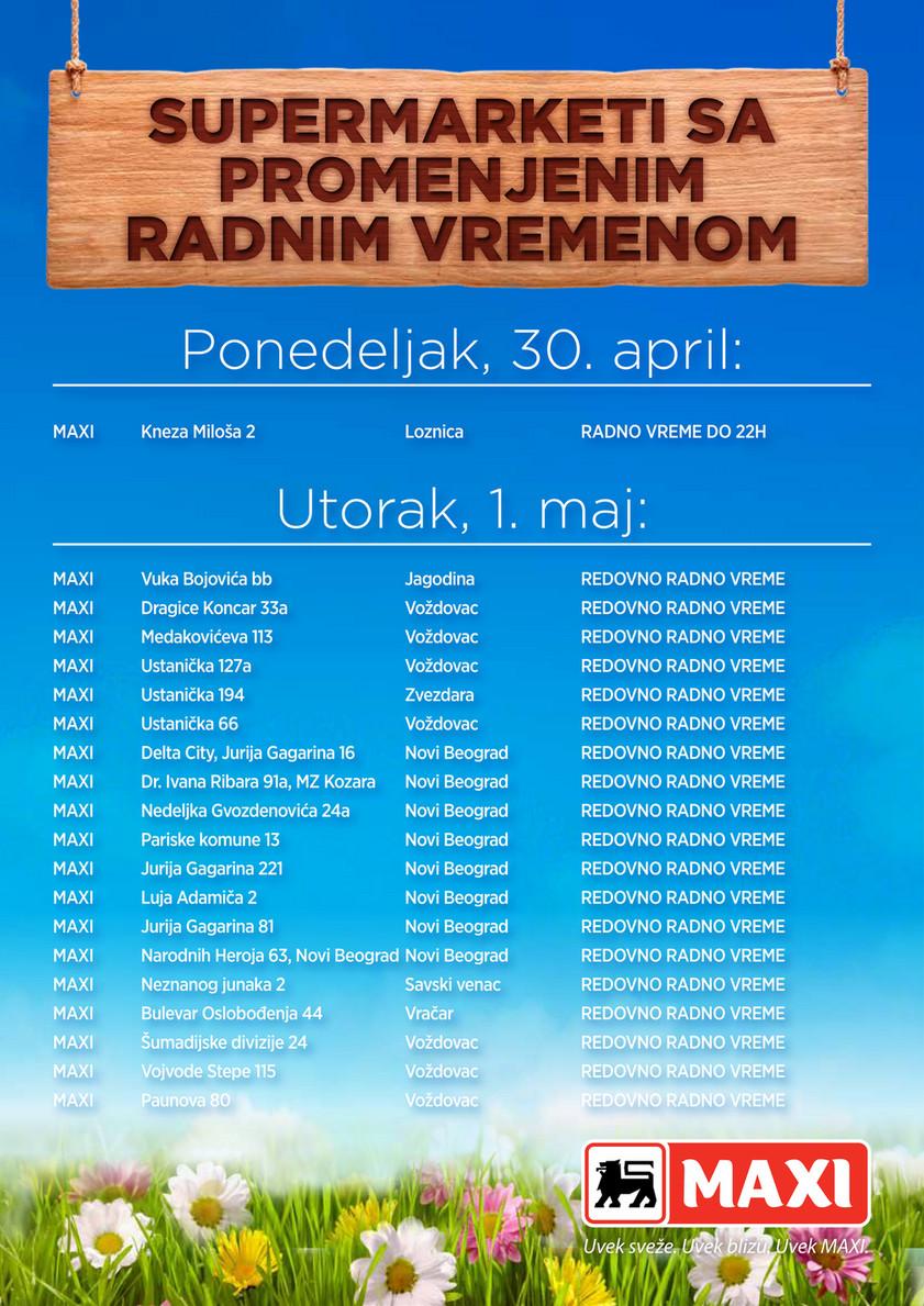 Maxi Serbia En Folder Maxi Radno Vreme Prvi Maj 2018 Web Pdf