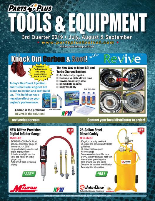 Parts Plus Tools & Equipment 2019 Q3 - Page 1
