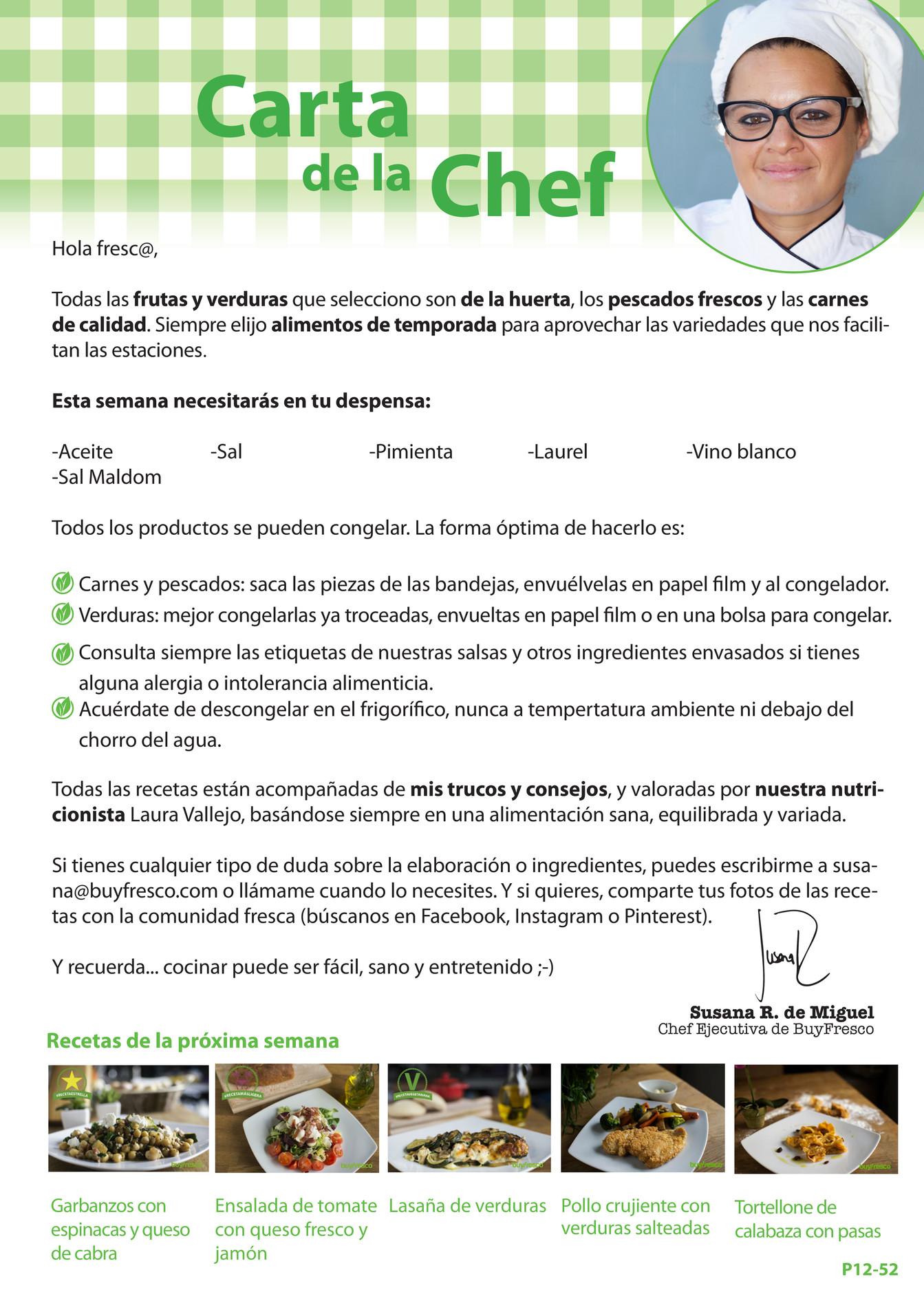 BuyFresco - BUYFRESCO, Cesta 12 para Parejas, 5 recetas para 2 personas - Página 8-9