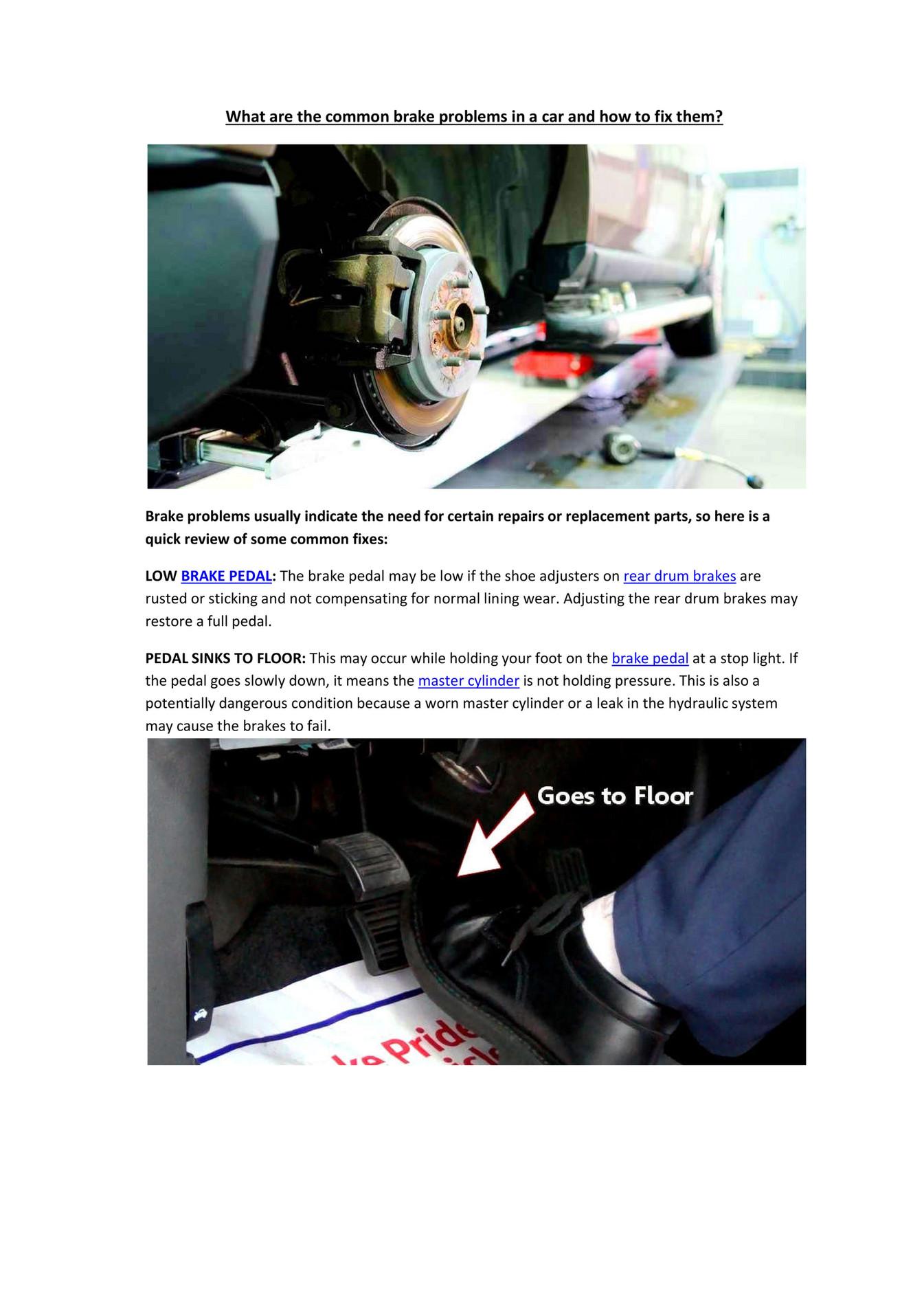 My publications - Partsavatar Aftermarket Car Parts, Canada - Common