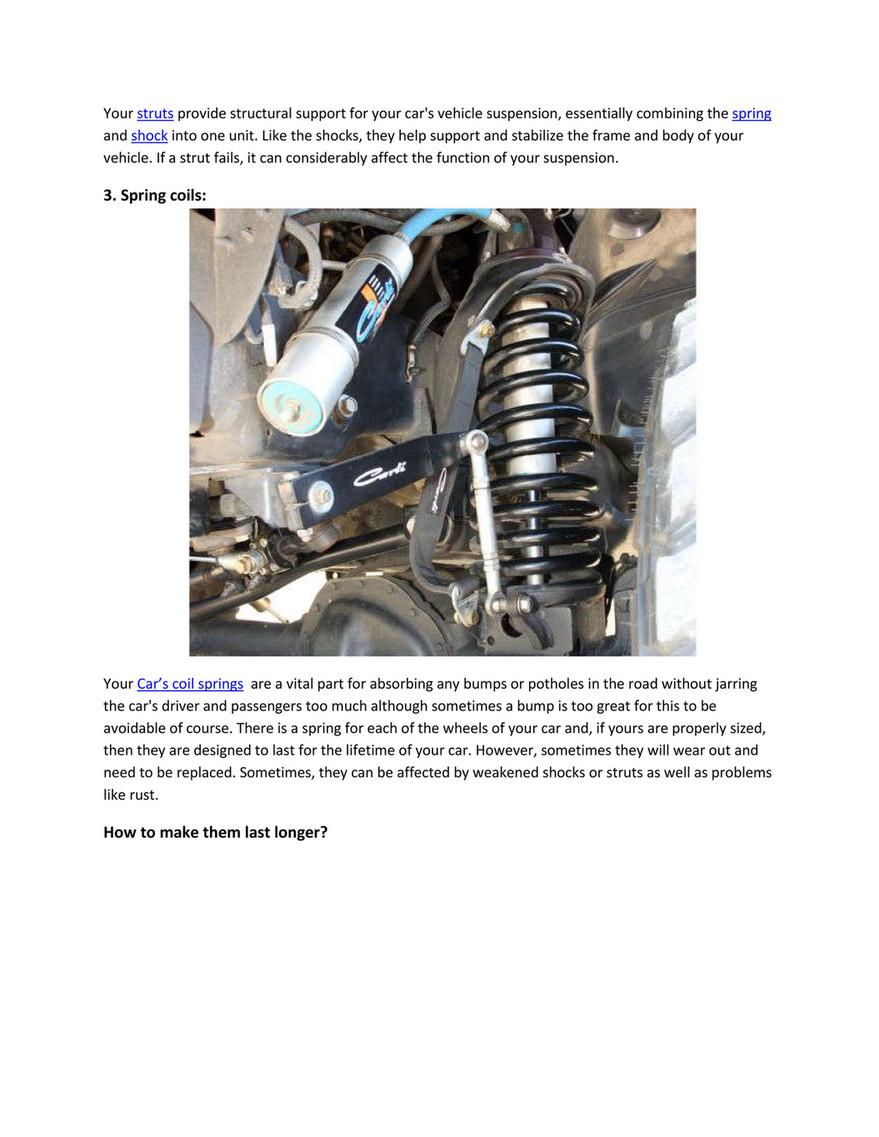 My publications - PartsAvatar After Market Car Parts, Canada