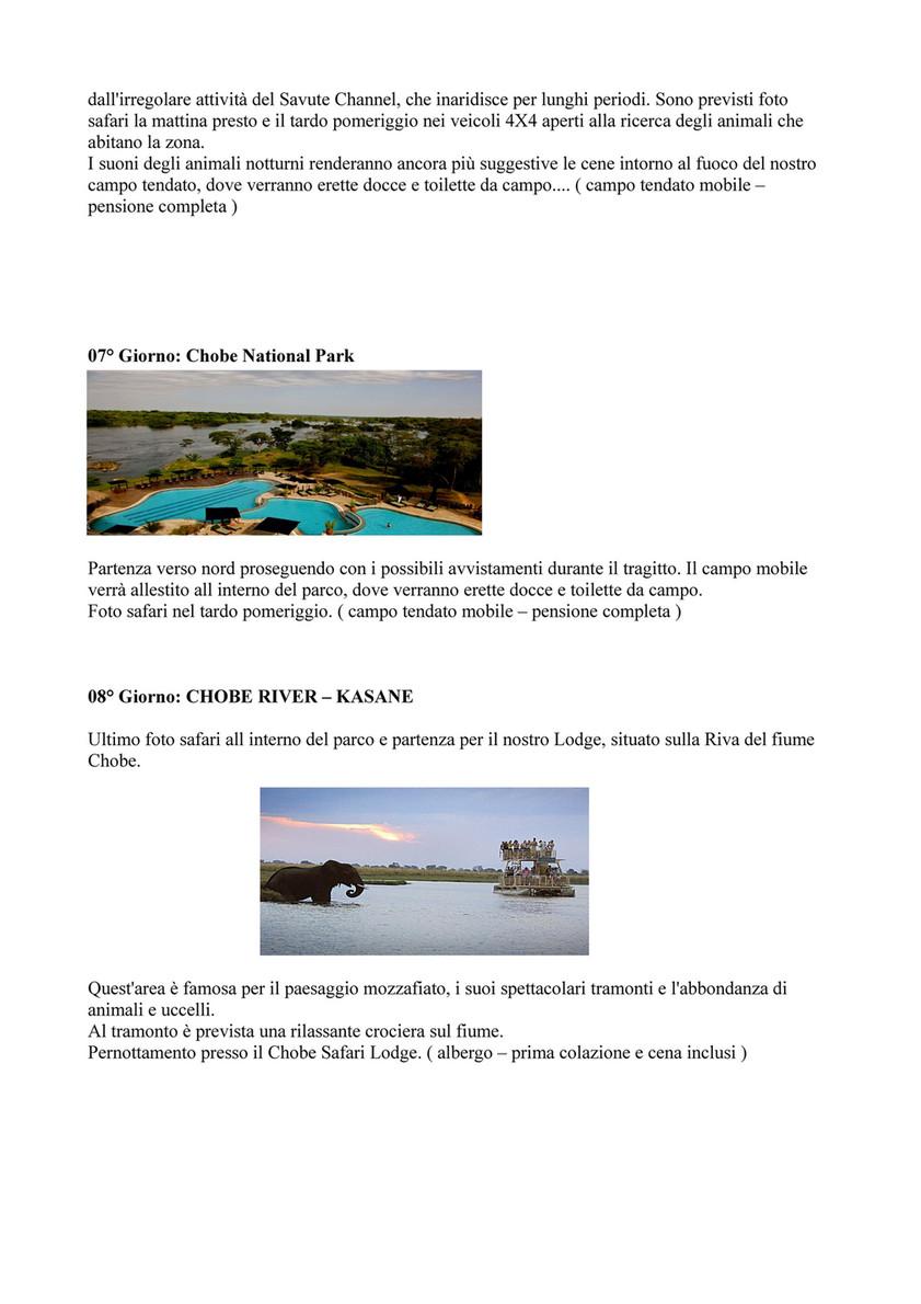 Ricerca Per Immagini Mobile my publications - bostwana e mozambico - page 2-3 - created