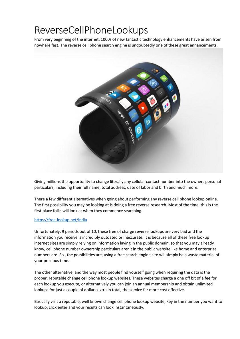 Cell phone alternatives