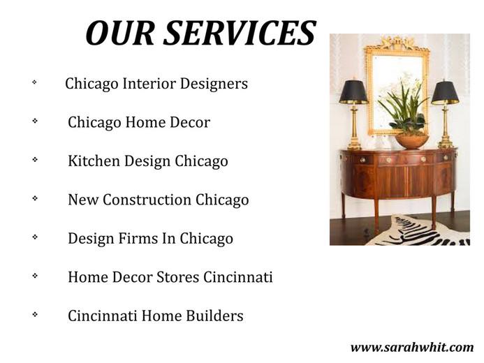 OUR SERVICES V Chicago Interior Designers Home Decor Kitchen Design New