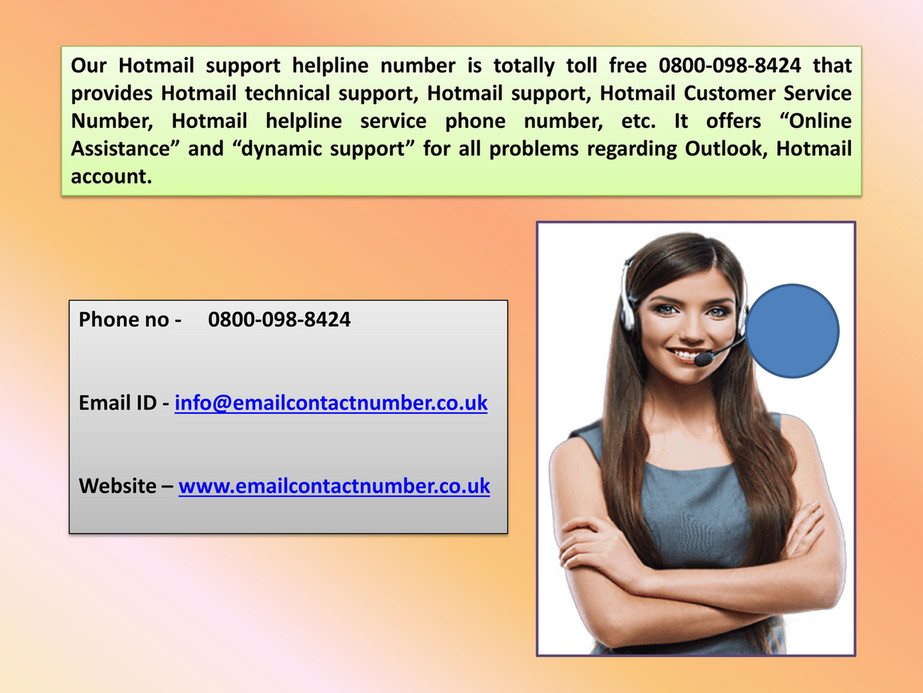 Hotmail customer service number - Page 6 - Created with Publitas com