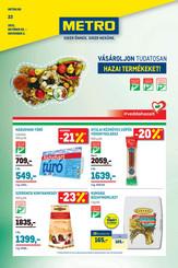 Élelmiszer és Szezonális katalógus 2021/23
