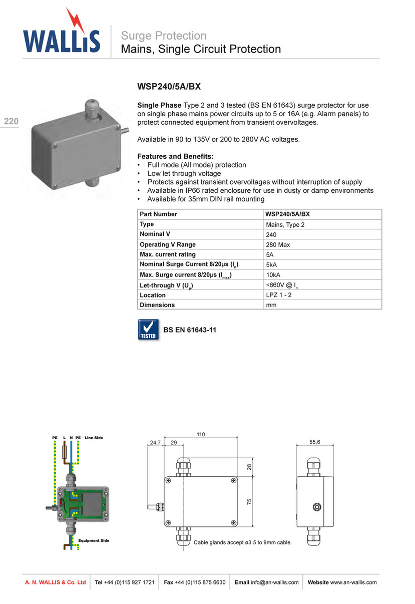 A. N. Wallis & Co Ltd - A N Wallis Product Catalogue - Page ... Co Ltd Schematic on