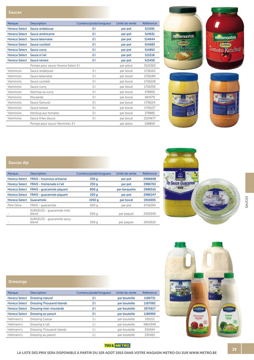 solutions-METRO-FR - Catalogue Snack-bar - Page 28-29