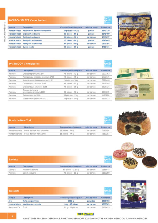 solutions-METRO-FR - Catalogue Snack-bar - Page 8-9