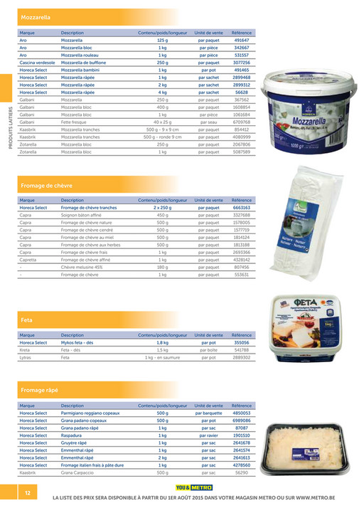 solutions-METRO-FR - Catalogue Snack-bar - Page 12-13