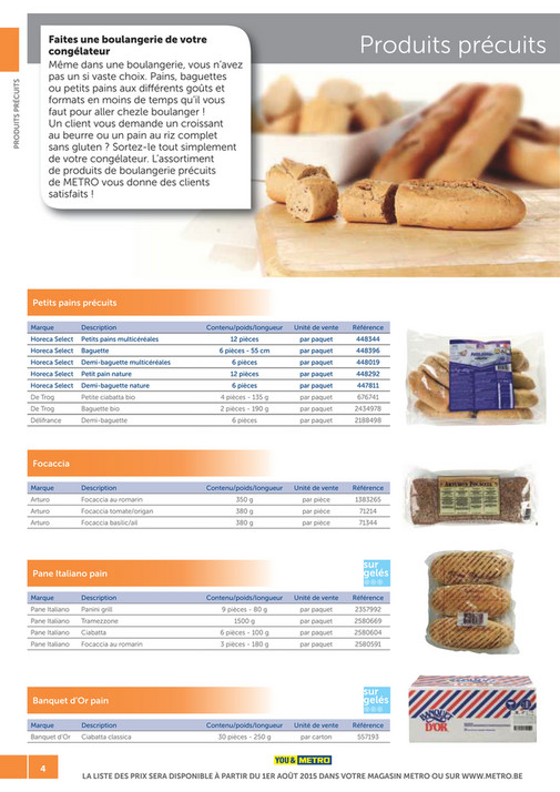 solutions-METRO-FR - Catalogue Snack-bar - Page 4-5