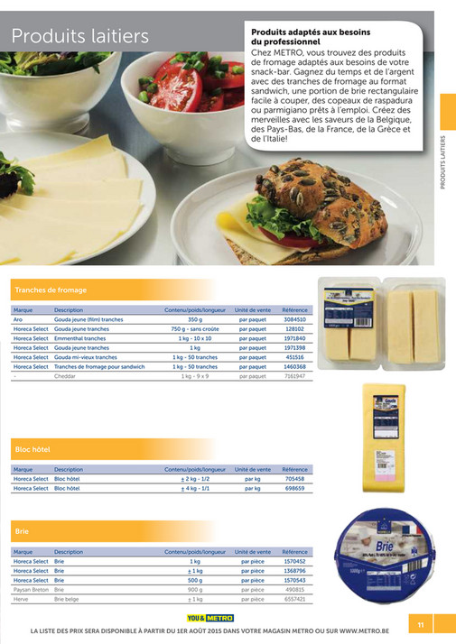 solutions-METRO-FR - Catalogue Snack-bar - Page 10-11