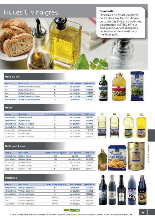 solutions-METRO-FR - Catalogue Snack-bar - Page 32-33