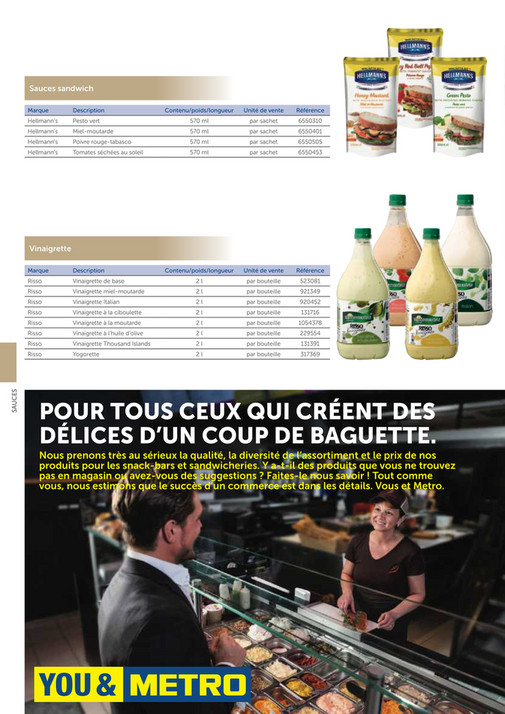 solutions-METRO-FR - Catalogue Snack-bar - Page 30-31