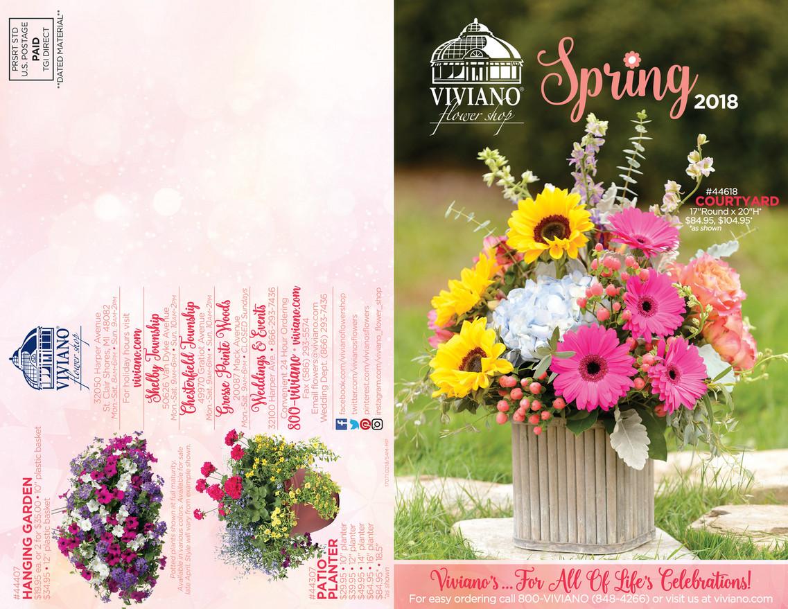 Viviano flower shop catalog as shown 2995 10 planter 3995 12 planter 4995 14 izmirmasajfo