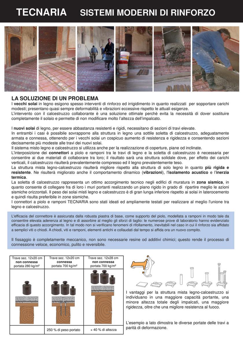 Sostituzione Travi In Legno Solai my publications - catalogo tecnaria - pagina 2-3 - created